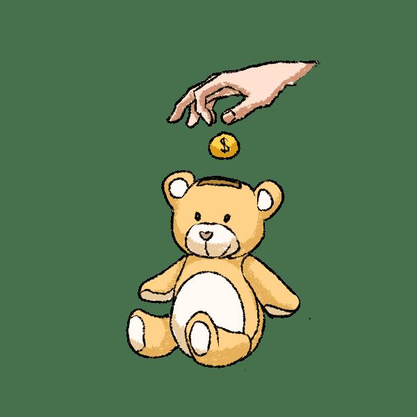 Как воспитать у детей правильное отношение кденьгам